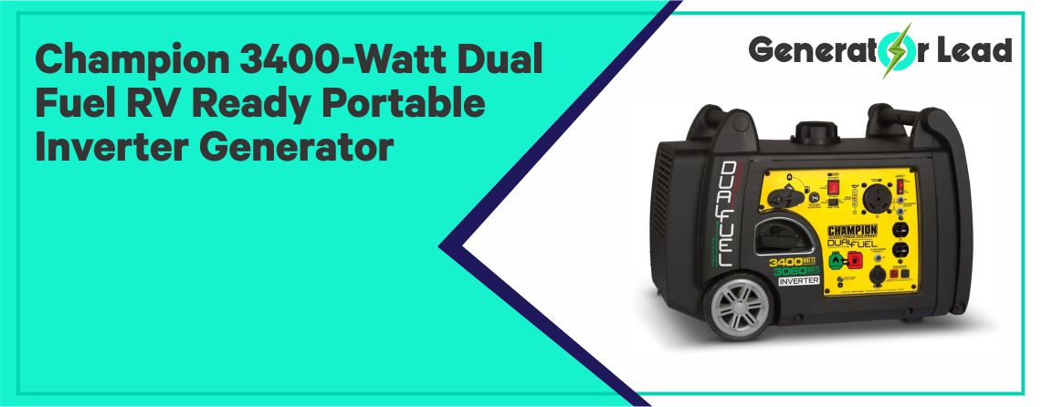Champion 3400-Watt - Best Dual Fuel Inverter Generator