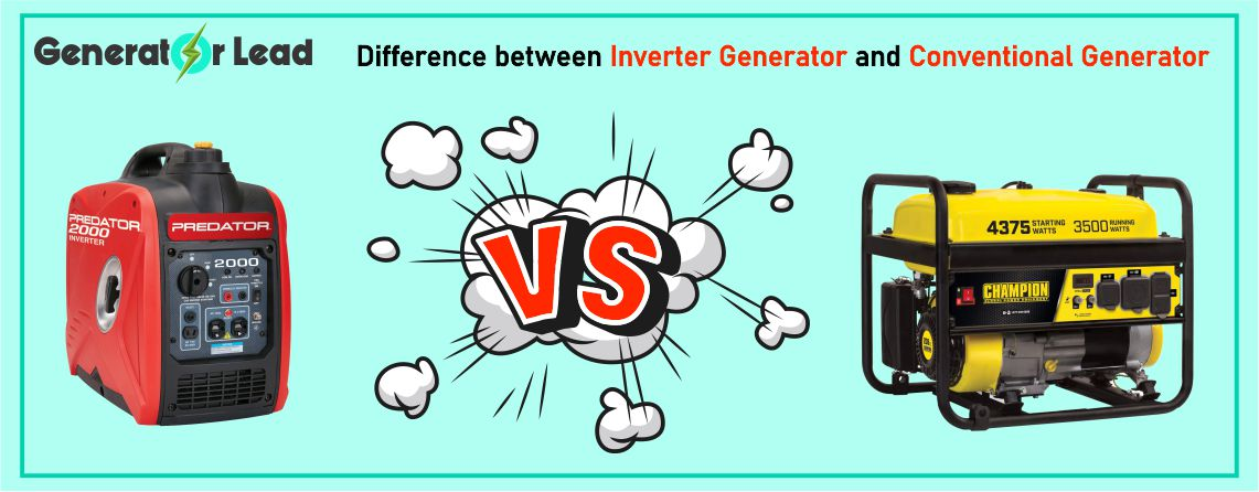 Difference between Inverter Generator and Conventional Generator