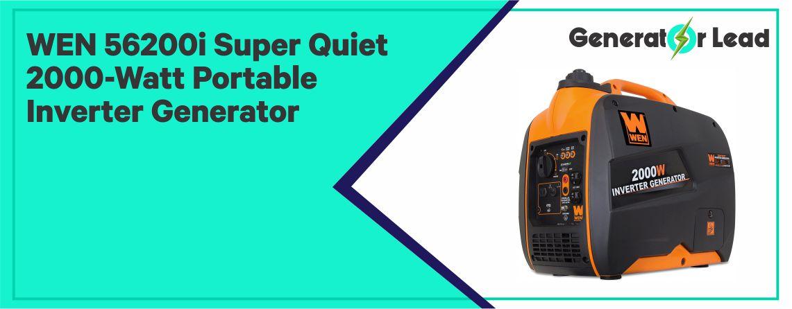 WEN 56200i - Best Inverter Generator for the Money