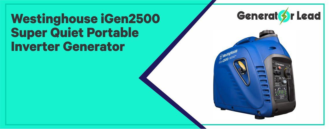 Westinghouse iGen2500 - Best Inverter Portable Generator