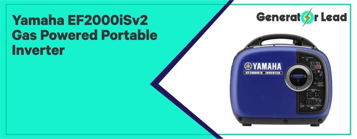 Yamaha EF2000iSv2 - Best Inverter Generator for Camping