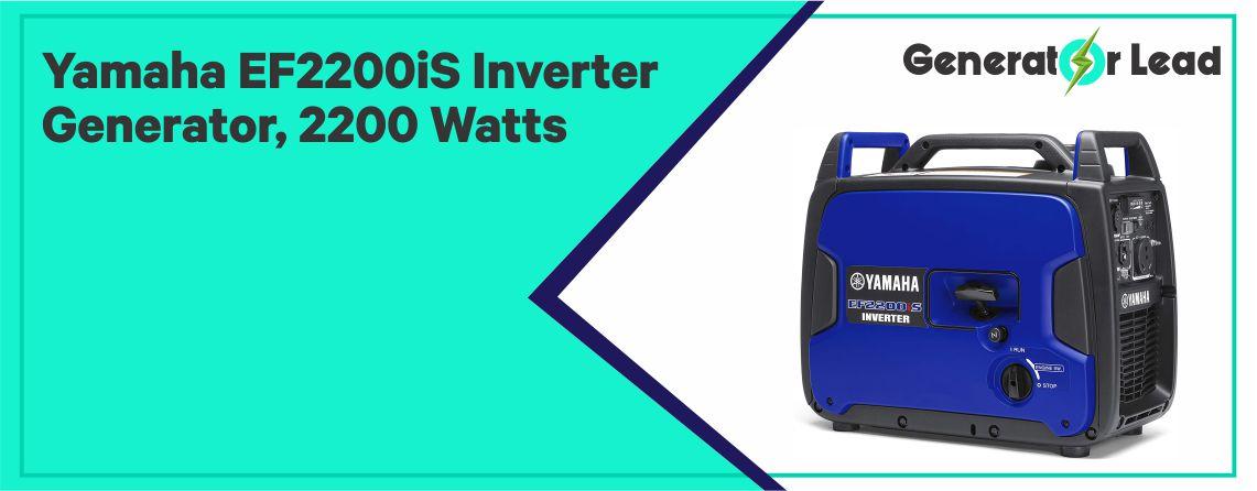 Yamaha EF2200iS - Best Yamaha Inverter Generator