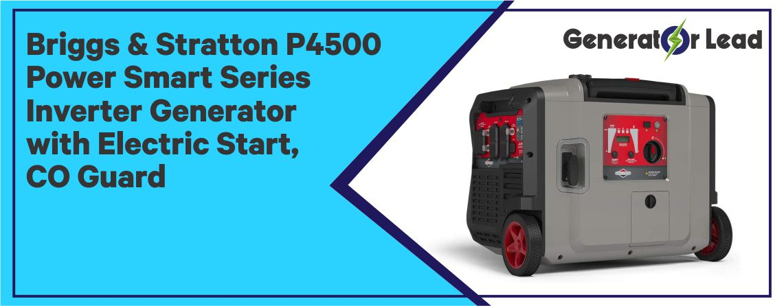 BRIGGS & STRATTON P4500 - Electric Start Inverter Generator