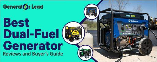 Best Dual Fuel Generator 2020 Reviews