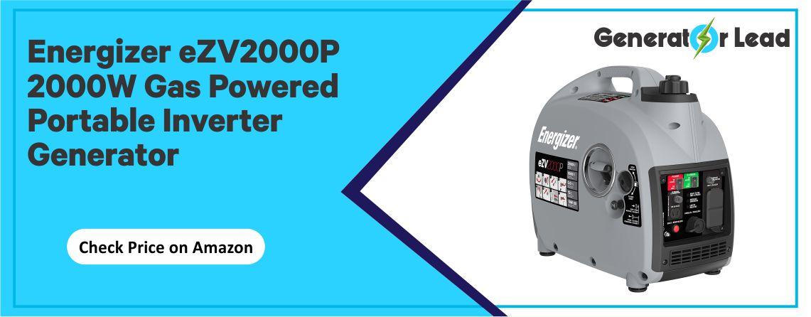Energizer eZV2000P - Parallel Capability Inverter Generator