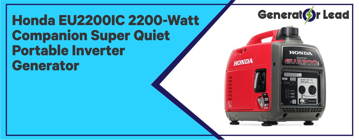 Honda EU2200IC - Best Inverter Generator for Home Use