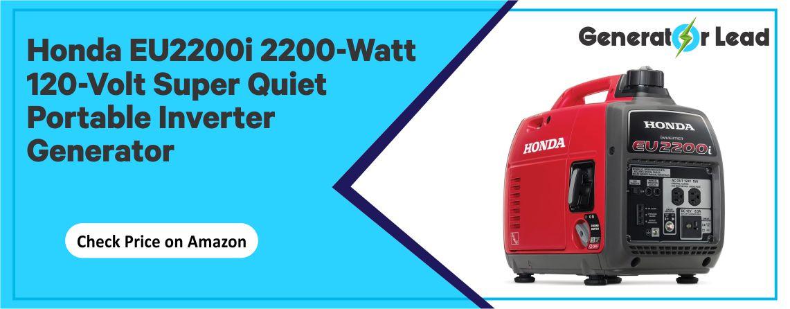 Honda EU2200i - 2200-Watt 120-Volt Inverter Generator