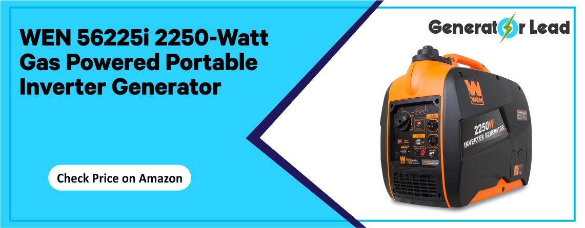 WEN 56225i - Best Gas Powered Inverter Generator