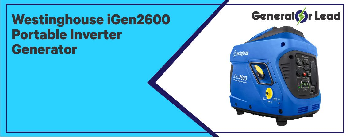 WESTINGHOUSE IGEN2600 - Gas Powered Inverter Generator