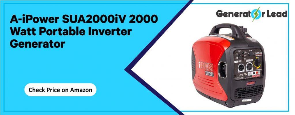 A-iPower SUA2000iV - Best Inverter Generator under $400