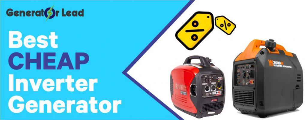 Best Cheap Inverter Generator 2020 Reviews