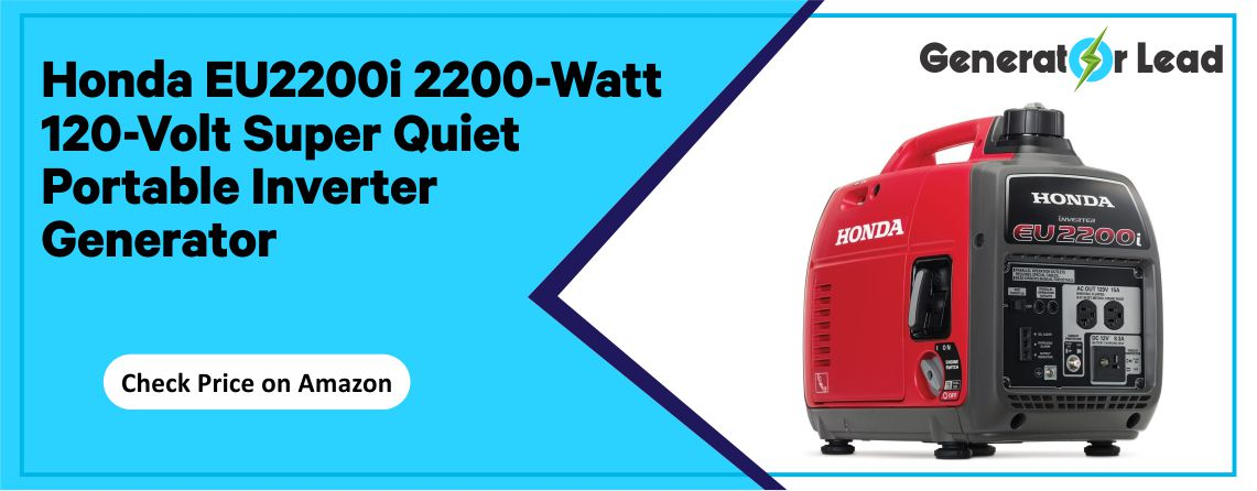 Honda EU2200i - Best Super Quiet Inverter Generator