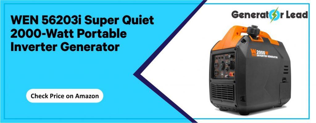 WEN 56203i - Best Cheap Inverter Generator for RV