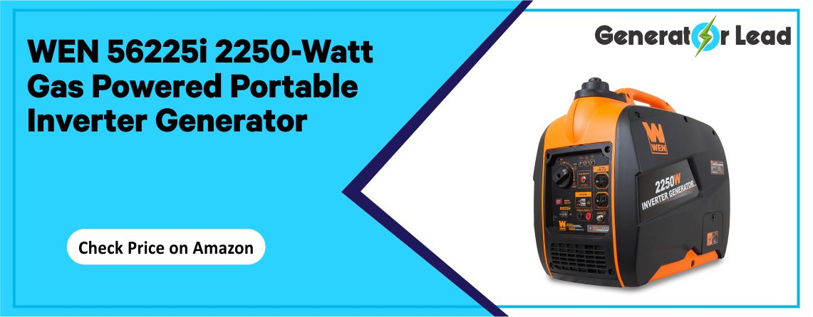 WEN 56225i - Best Fuel Shut-Off Inverter Generator