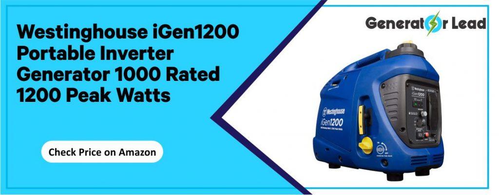 Westinghouse iGen1200 - Best Gas Powered Inverter Generator