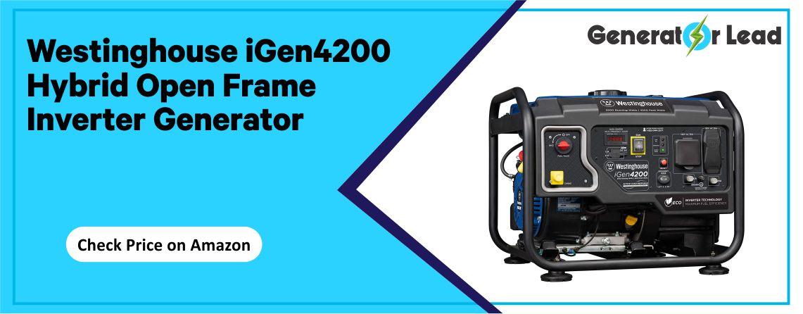 Westinghouse iGen4200 - Open Frame Inverter Generator