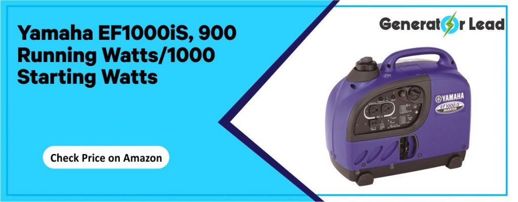 Yamaha EF1000iS - Gas Powered Portable Inverter