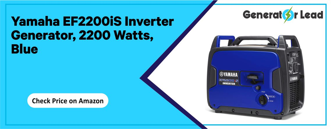 Yamaha EF2200iS - 2200 Watts Inverter Generator