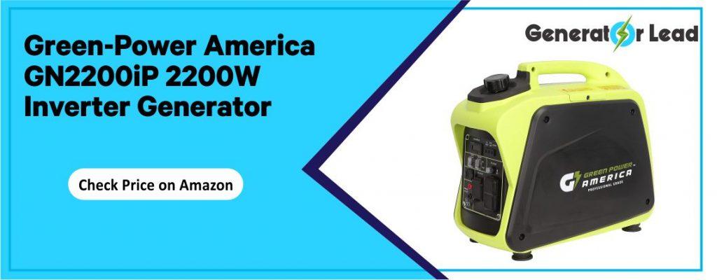 Green-Power America GN2200iP best value inverter generator for home backup