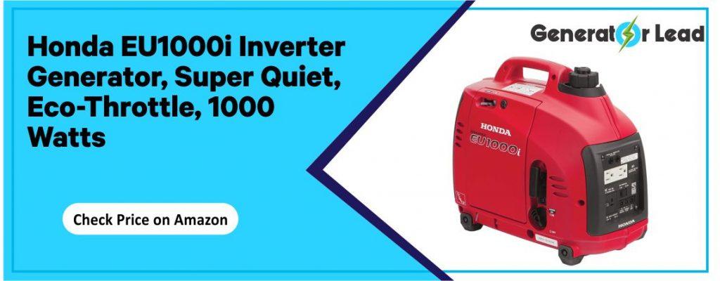 Honda EU1000i - Best Eco-Throttle Inverter Generator