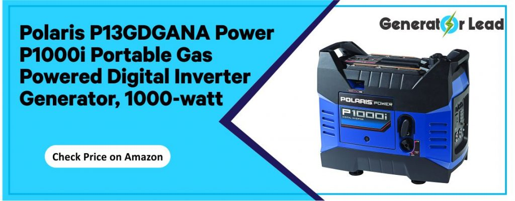 Polaris Power P13GDGANA - Best 1000 Watt Digital Inverter Generator
