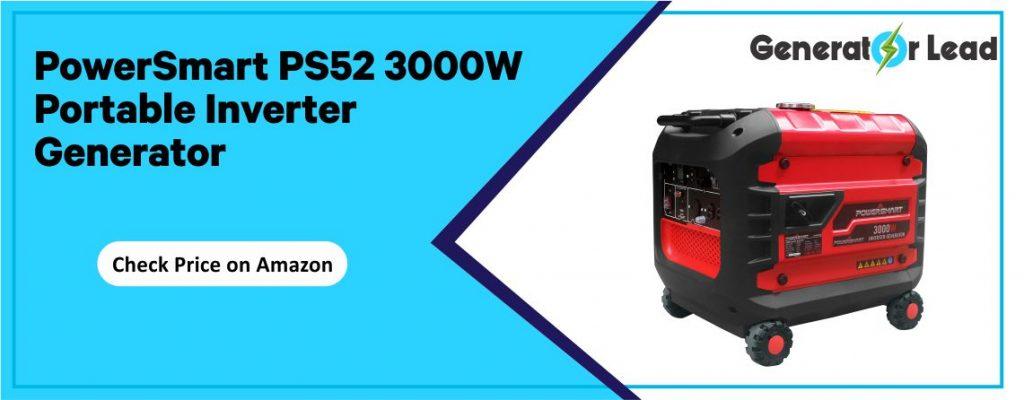 PowerSmart PS52 best portable inverter generator for home backup