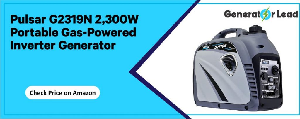 Pulsar PG4000iSR - Best Gas Powered Inverter Generator