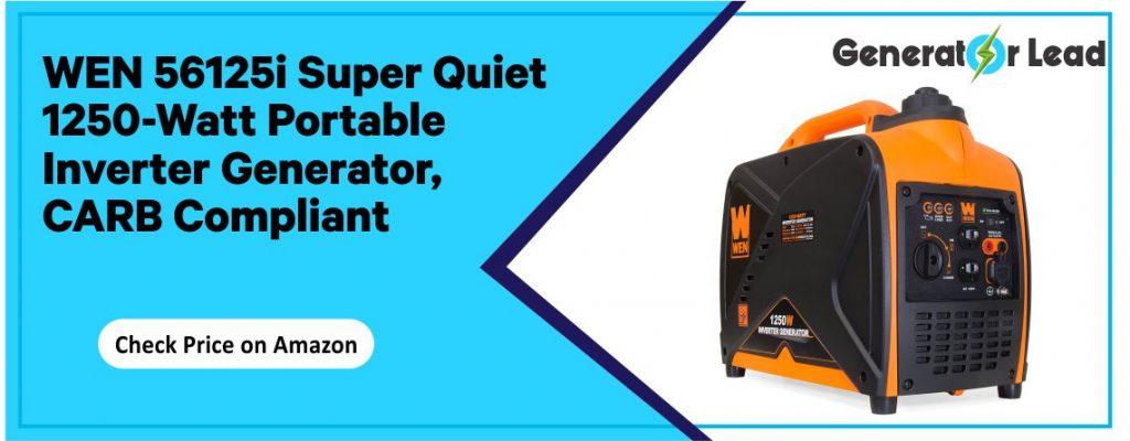 WEN 56125i - BestQuiet Inverter Generator