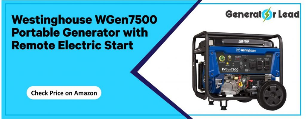 Westinghouse WGen7500 - Best Electric Start Inverter Generator
