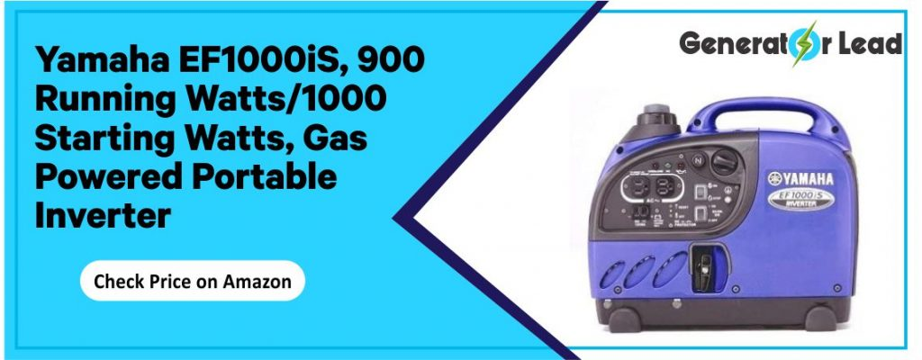 Yamaha EF1000iS - Gas Powered Portable Inverter