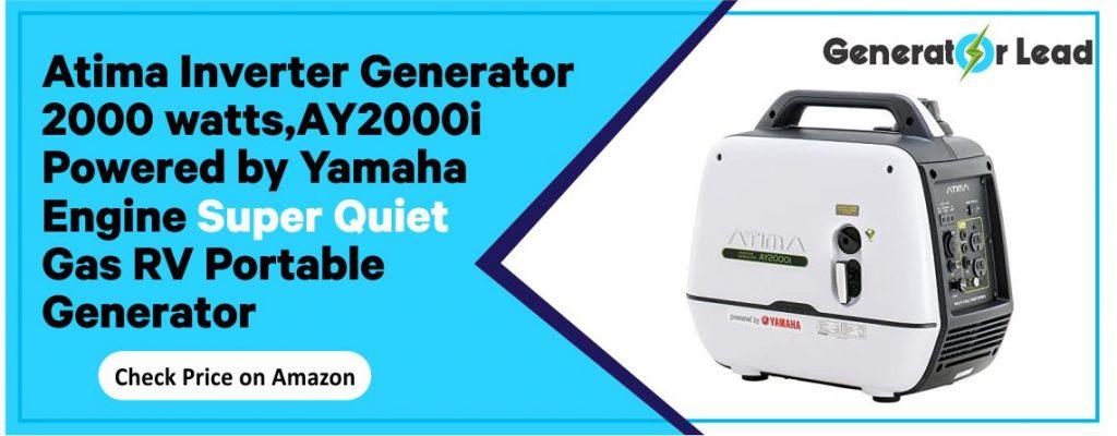 Atima AY2000i - Best Gas Inverter Generator for RV
