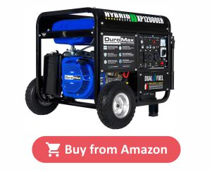 DuroMax XP12000EH - Best Dual Fuel Propane Generator product image