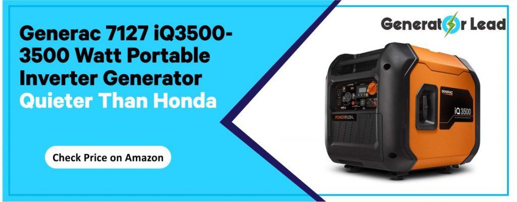 Generac 7172 iQ3500 - Best Quiet Portable Inverter Generator