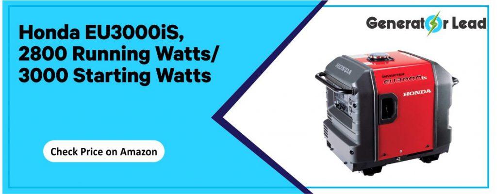 Honda EU3000iS - Best Portable Inverter Generator