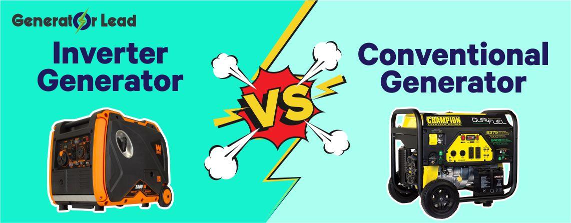 Inverter generator v. Conventional generator
