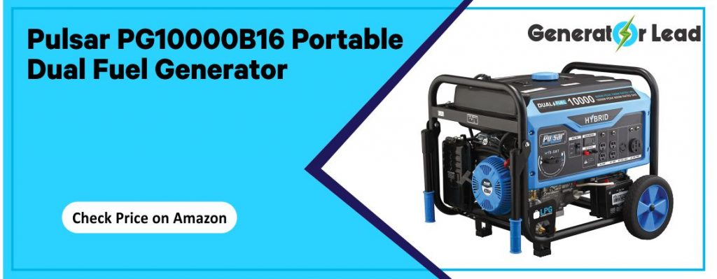 Pulsar PG10000B16 - CARB Compliant Inverter Generator