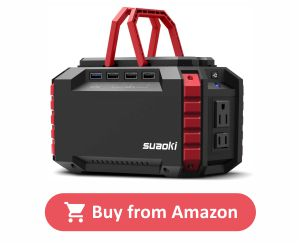 SUAOKI Portable Power Station - Dual 110V AC Outlet product image