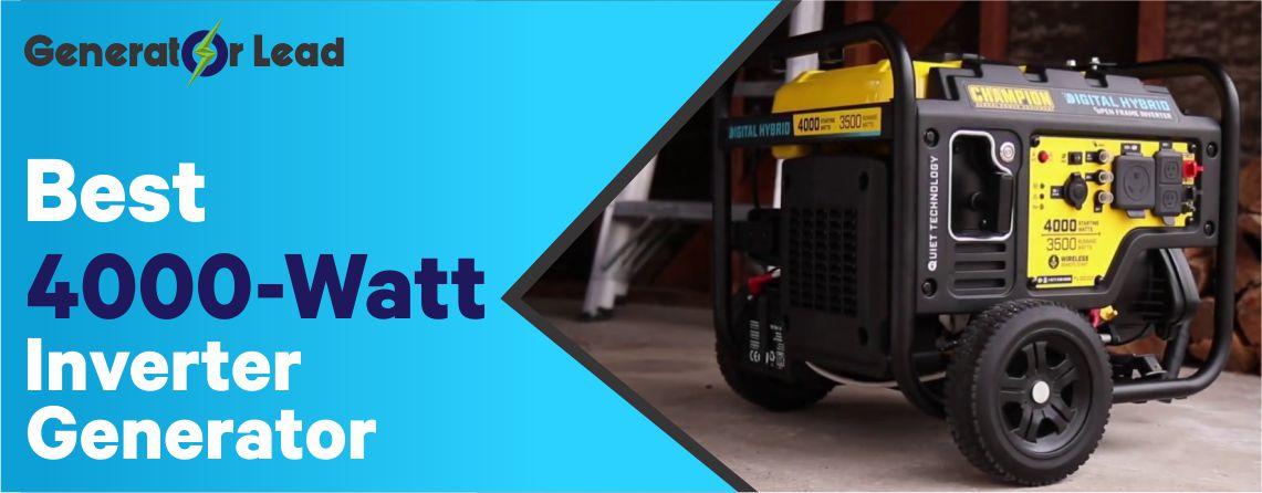 Best 4000-Watt Inverter Genertors Reviews and In-depth Guide