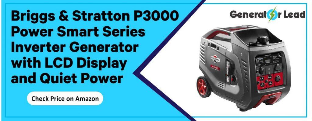 Briggs & Stratton P3000 - Best Smart Inverter Generator