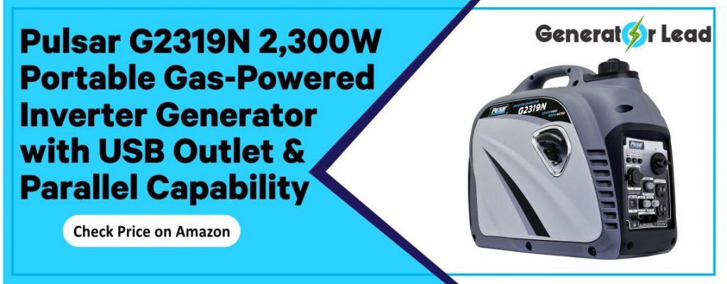 Pulsar PG4000iSR - Best Gas-Powered Inverter Generator