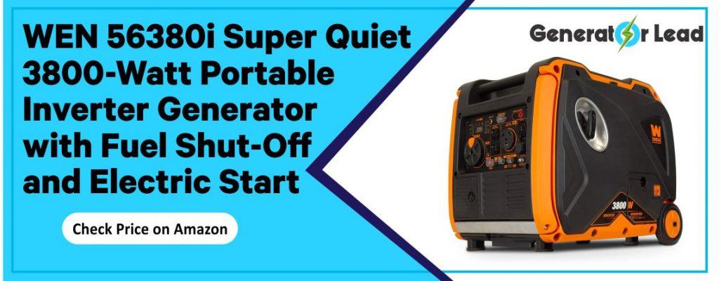 WEN 56380i - Best Electric Start Inverter Generator