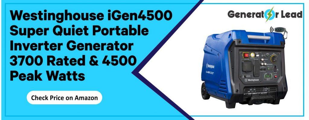 Westinghouse iGen4500DF - Best Quiet Inverter Generator